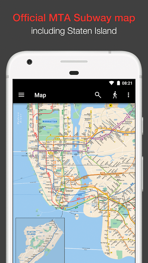 new york subway mta map and routes of nyc subway android apps