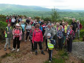 Photo: Group on the Festival C walk, Sunday June 1st, 2014