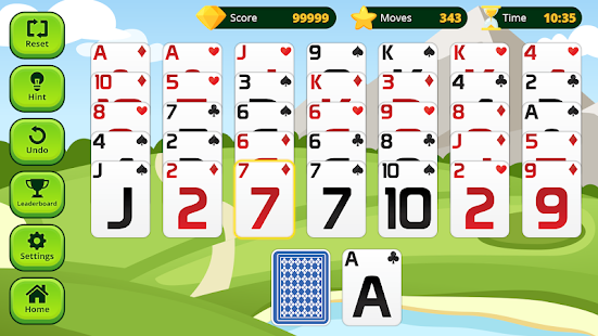 Golf Solitaire - náhled