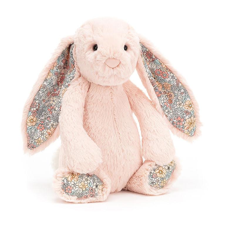 JellyCat Bashful Blossom Blush Bunny
