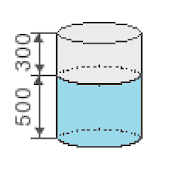 Calculate the volume of barrel