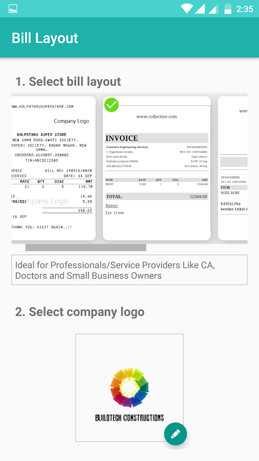 simple invoice user roles | design invoice template – formiles, Invoice templates