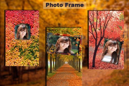 Autamns Photo Frame