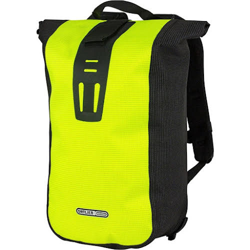 Ortlieb Velocity Backpack, 24L, High Visibility Yellow