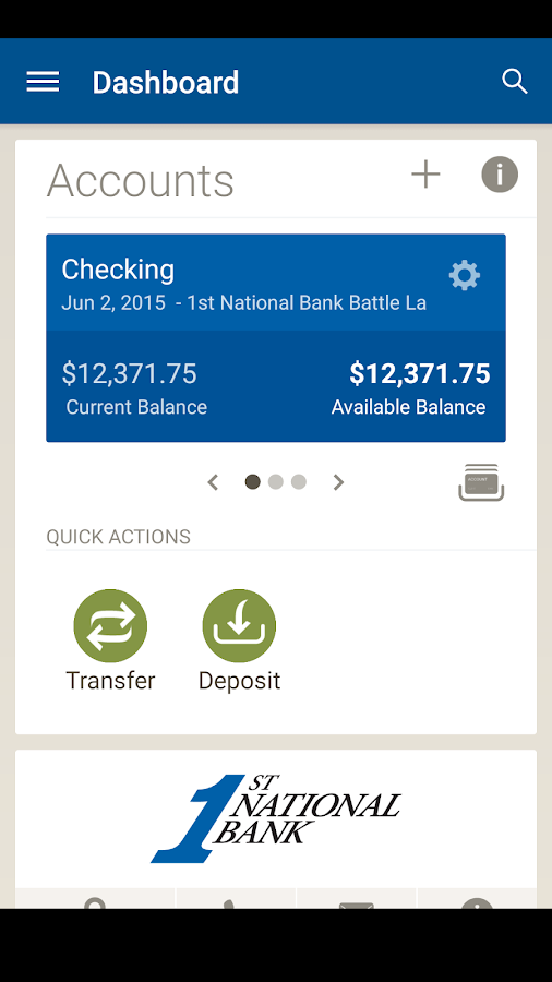 Battle Lake Bank Mobile- screenshot