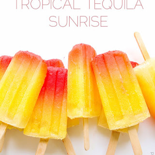 Tropical Tequila Sunrise.
