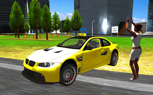 Taxi Town Driving Simulator