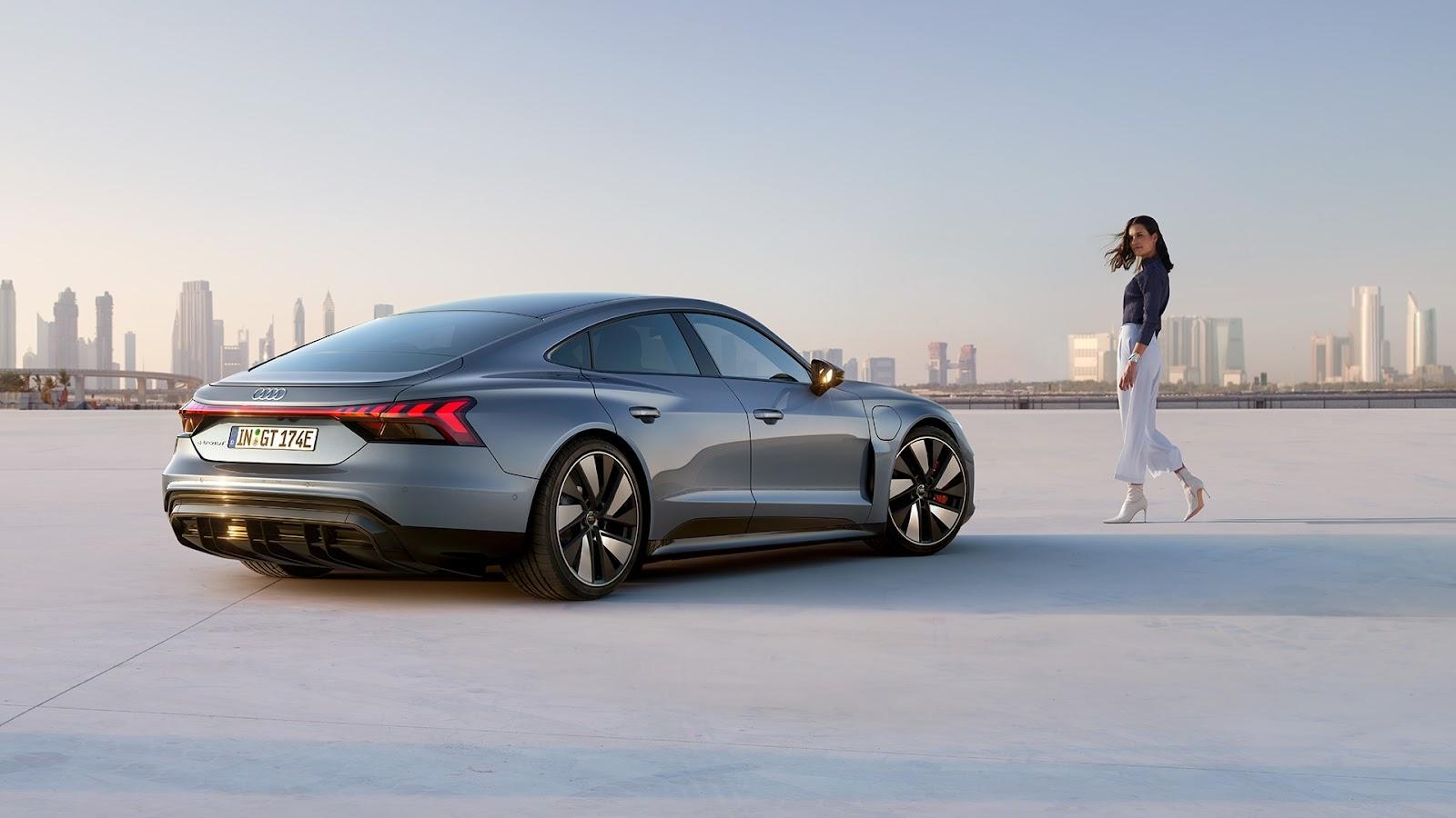 Audi deve lançar o e-tron GT no Brasil ainda em 2021 (Fonte: Fonte: Audi/Divulgação)