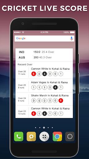 Live Cricket Match 2.0 screenshots 7