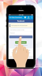 FB Video Downloader For Facebook - náhled