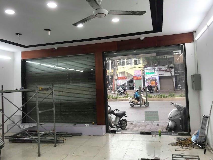 cải tạo cửa hàng