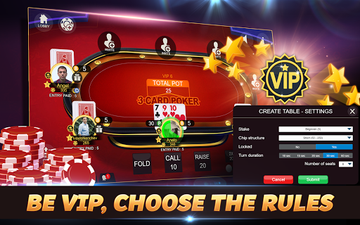 Svara - 3 Card Poker Online Card Game 1.0.11 screenshots 18