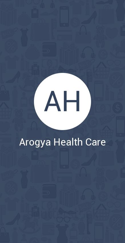 Скриншот Arogya Health Care