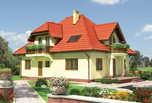 projekt domu Hipolit