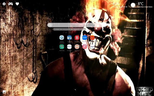 Twisted Metal PS4 HD Wallpaper New Tab Theme