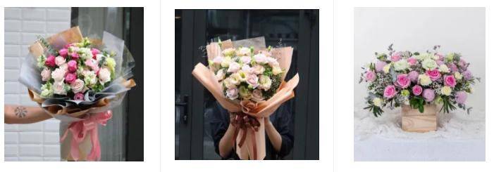 Các mẫu hoa sinh nhật đẹp tại shop hoa tươi quận 2