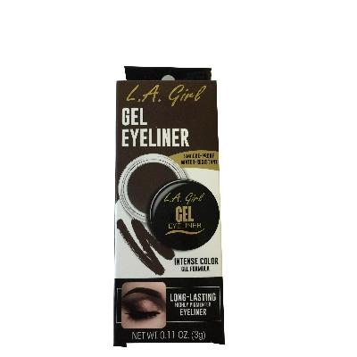 Delineador La Girl Gel 735 Rich Chocolate Brown