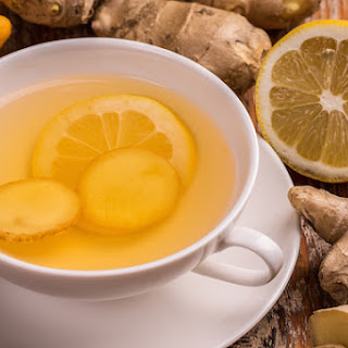 How to Make Fresh Ginger-Lemon Tea.