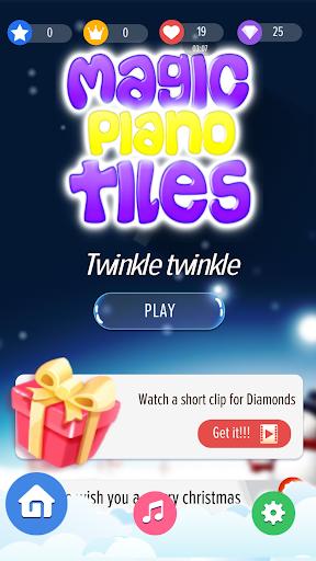 Magic Piano Tiles 2020 : white tiles piano games 1 screenshots 1