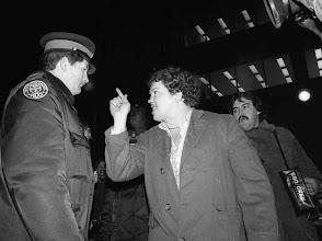 Photo: Bath house Raids sit in demo 1981,Yonge and Wellsley D