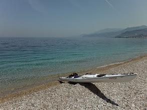 Photo: A Korintoszi öbölben haladós idő várt.