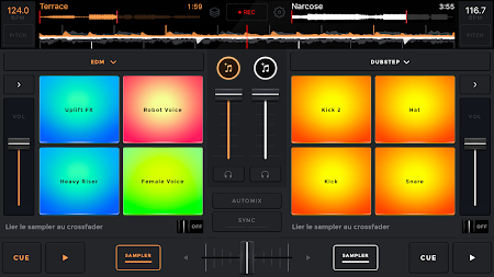 edjing Mix: DJ music mixer APK screenshot thumbnail 1
