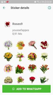 Download ملصقات باقات من الزهور للواتساب for WhatsApp For PC Windows and Mac apk screenshot 6