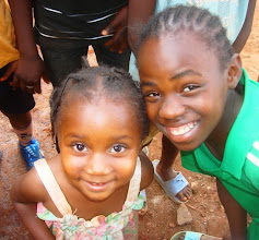 Photo: Kids we met during Friday outreach in Bamenda.