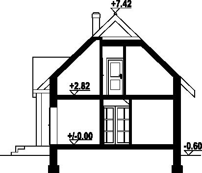Hoczew bk 11 - Przekrój