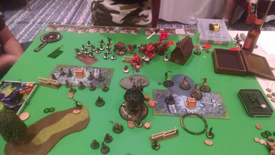 End of Cryx, Round 2