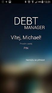 Debt Manager - náhled