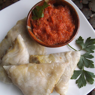 Gluten-Free Lentil Samosas