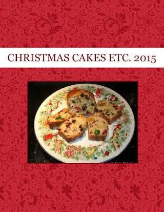 CHRISTMAS CAKES  ETC.  2015