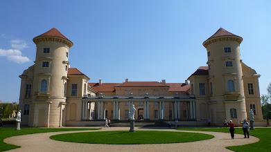 Photo: Das Schloss Rheinsberg von der Wasserseite