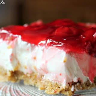 Cheater Cherry Cheesecake Bars.