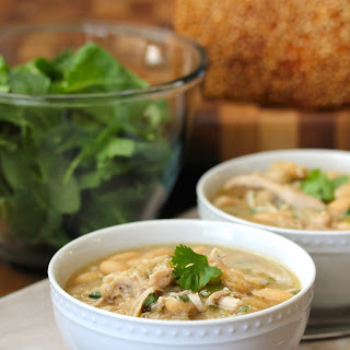 Slow Cooker White Bean and Chicken Chili.