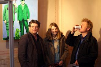 Photo: Gäste bei der Vernissage