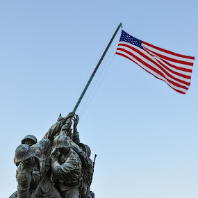 Iwo Jima Memorial by Robb Harper - Buildings & Architecture Statues & Monuments ( washington dc )