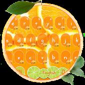 Tải Fresh Citrus Keyboard Theme APK