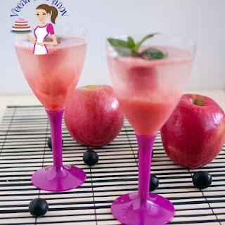 Strawberry Vodka Cocktail .