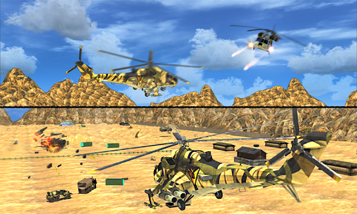Stealth Helicopter Warfare 3d - náhled