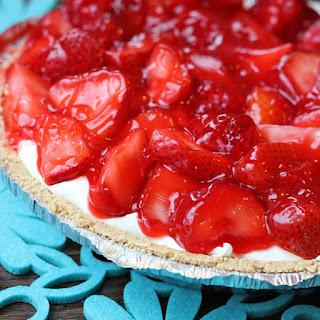 Skinny Strawberry Pie.