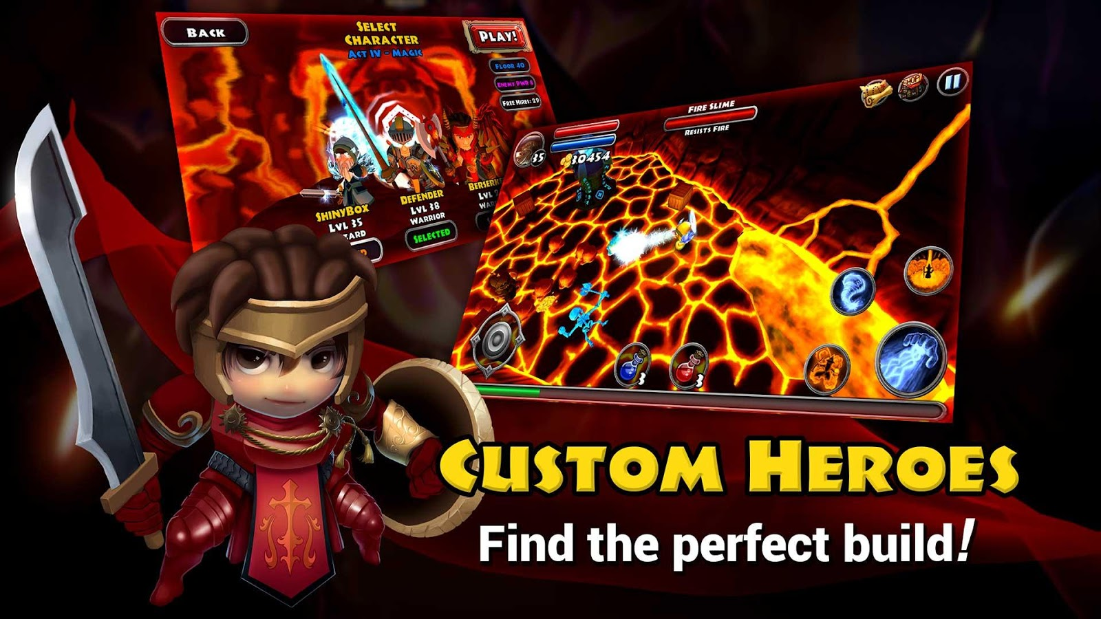 Screenshots of Dungeon Quest for iPhone