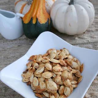 Ranch Roasted Pumpkin Seeds.