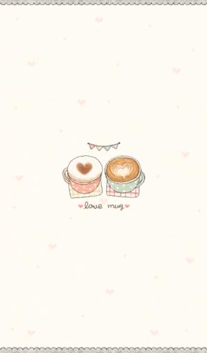 love mug 카카오톡 테마