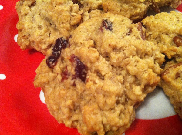 Cranberry Pecan Oatmeal Cookies Recipe