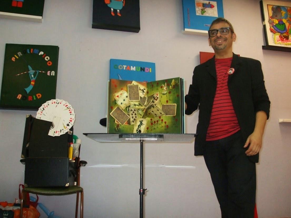 Alfonso V magia para colegios animación lectura