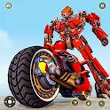 Bike Robot Car Game: Police Robot Transform Games icon