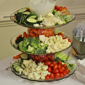 Veggie Tier by Terry Linton - Food & Drink Fruits & Vegetables