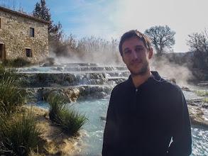 Photo: Cascate del Gorello, Terme di Saturnia, Tuscany, Italy - Daniele. More at  http://blog.kait.us/2013/03/terme-di-saturnia.html